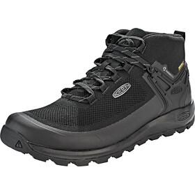 Keen Citizen Evo WP Mid Shoes Men triple black/black